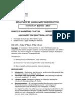 Bsns 7370 Marketing Strategy a1a2a3 s1 2012