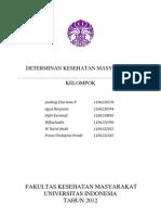 DETERMINAN KESEHATAN MASYARAKAT
