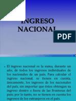 Ingreso Nacional y Distribucion Del Ingreso Nacional