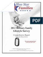 Blue Star Families 2012 Military Family Lifestyle Survey Comprehensive Report EMBARGOED