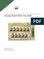 Voxengo Sound Delay User Guide En