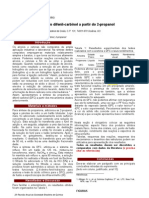Síntese DFC e Acetona