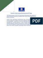 Interlink Interchange Reimbursement Fees April2012