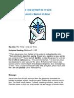 The Holy Spirit Series for Kids Baptism of Jesus