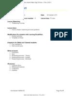 BCT112A Lesson Plan - 11