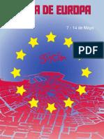 Semana de Europa. Gijón, Mayo 2012