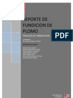 Practica de Fundicion Del Tec de Tapachula