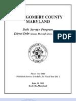 FY2011-Debt Service Program