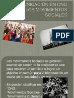 LA COMUNICACIÓN EN ONG Y LOS MOVIMIENTOS SOCIALES