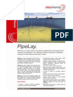 PipeLay Data Sheet