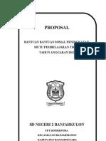 Proposal Tik Sd