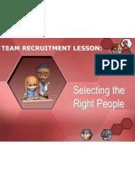 Team Recuitment