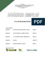 Dossier Cv Lettre Motiv