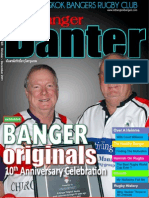 Banger Banter Newsletter 4th Quarter 2011