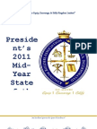 State of the Association Address - Mid-Year 2011