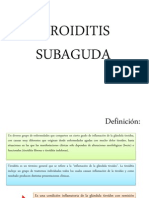 9. Tiroiditis Subaguda