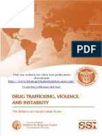 Drug Trafficking, Violence, and Instability