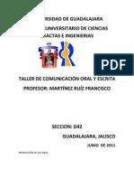 PRODUCCIÓN DE LAS IDEAS