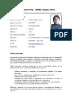 Curriculum_david Correa Vasquez