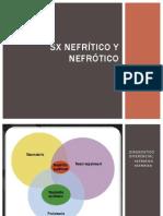 Sx Nefrítico y Nefrótico
