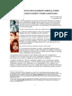 Notas Para Un Debate Sobre El Poder - Marta Harnecker