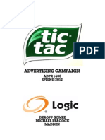 Tic Tac Plans Book