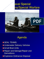 Naval Special Operations Special Warfare