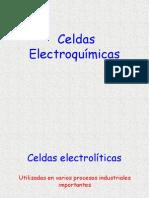 Celdas electrolítica