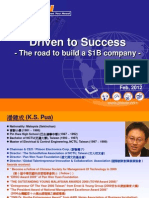 KS for Driven to Success