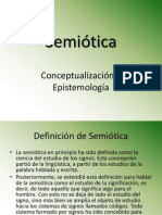 Semiótica concepto