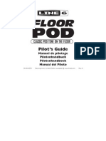 Floor POD User Manual - Spanish ( Rev a )