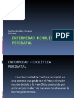 Res418853 Enfermedad Hemol Tica