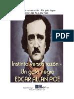 _Instinto versus Razón -Un Gato Negro - Edgar Allan Poe