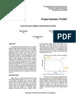 P12407 Final Report