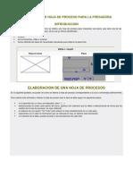 3.-ELBORACIÓN DE HOJA DE PROCESO PARA LA FRESADORA
