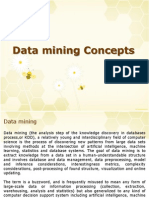 Data Mining Concepts