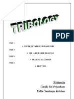 Tribology Material