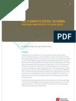 The Planners Digital Dilemma