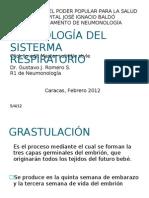 Embriologia Del Sistema Respiratorio