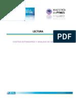 Costos Estandar y Analisis de Desviasiones
