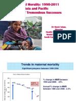 Islam_Global progress in maternal mortality 1990–2011