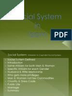 Social System in Islam