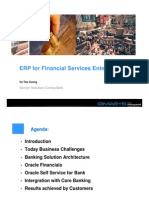 Oracle ERP for Banking
