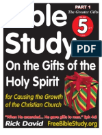 Bible Study on the Greater Gifts