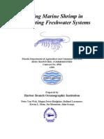 Farming Marine Shrimp in Recirculating Freshwater Systems