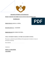 HOSPITAL MANAGEMENT SYSTEM FINAL DOCUMENTATION REPORT