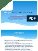 SSG 516 Mechanics of Continua 2