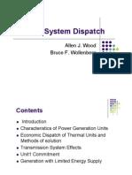 Power System Dispatch