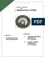 RAIlway Reservation 7