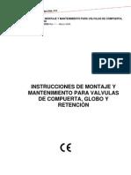 Valvulas de Compuerta Globo y Retencion Rev.1